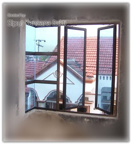 Jendela Kaca Mati + Casment
