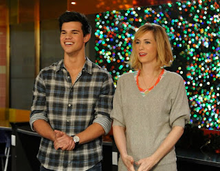 Taylor Lautner at Saturday Night Live Promo Picture