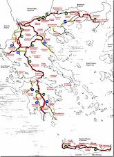 Το Ορειβατικά μονοπάτια της Ελλάδας