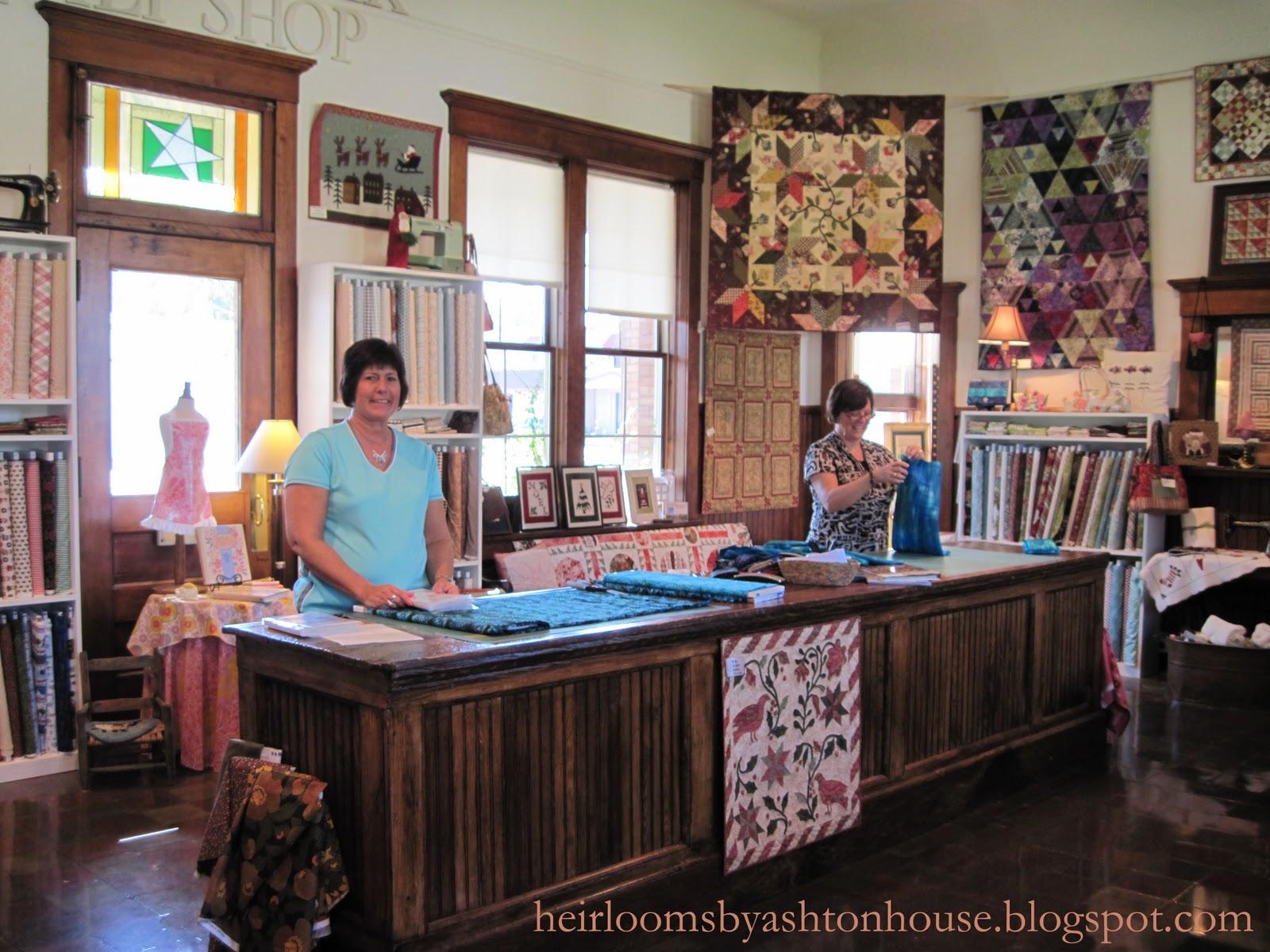 Heirlooms by Ashton House: QUILT SHOP BLISS : quilt shops - Adamdwight.com