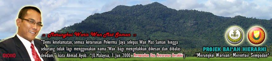 Menjejaki Waris Keturunan Wan Mat Saman