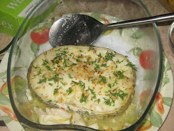SNOWFISH IN GARLIC AND HERBS