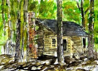 Gordon F. Currie - Watercolor Artists - Watercolor Painting and