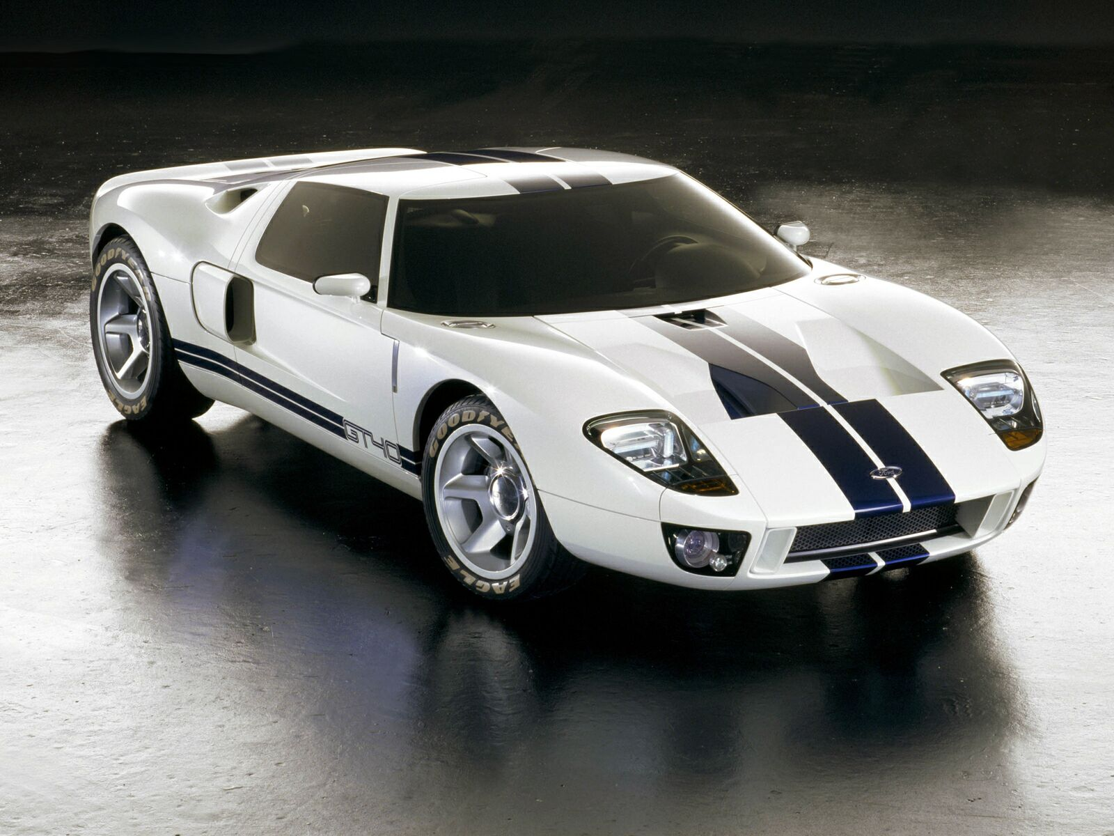 Ford GT90 concept shown in