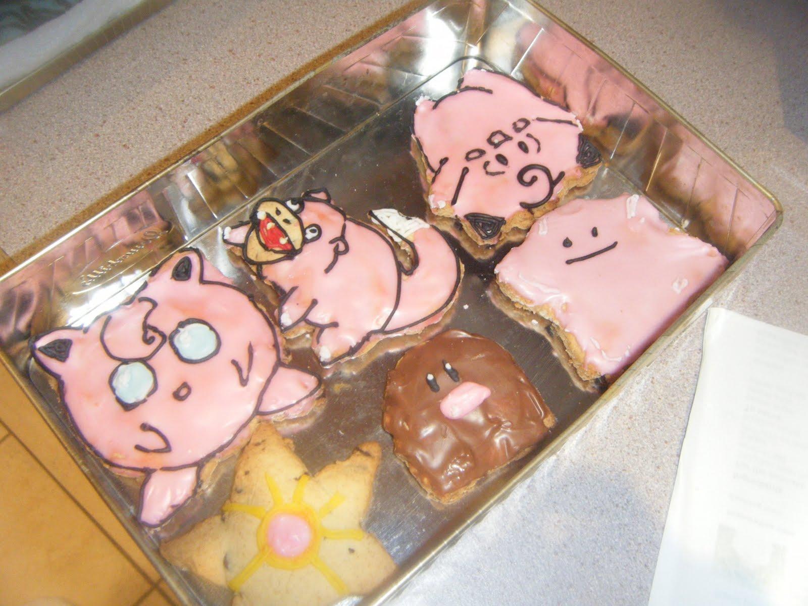 how to make pokemon sugar cookies