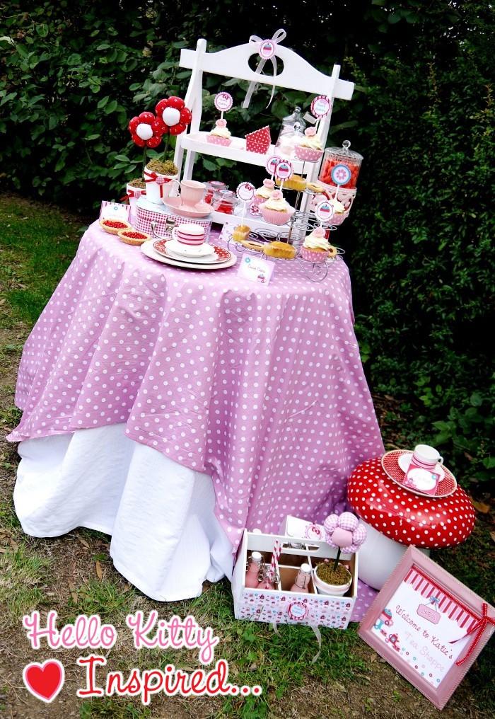 Hello Kitty Tea Party