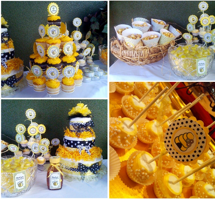 honey bee bumble bee party printables baby printables party ware