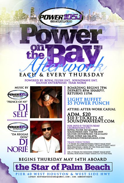 Power 105.1 - Power on the Bay.