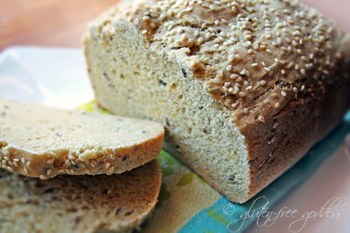 Gluten-Free Multi-Grain Sandwich Bread - Gluten-Free Goddess Recipes