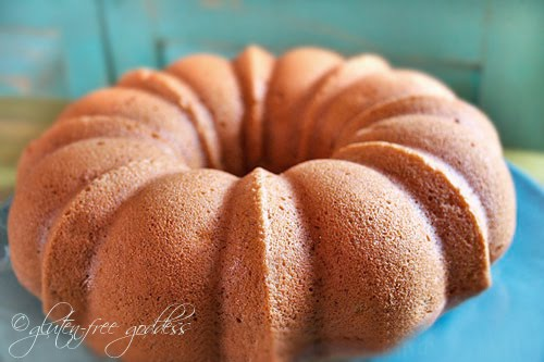 Gluten free vegan banana bundt cake recipe