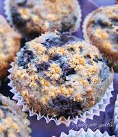 Gluten free blueberry cake cupcakes