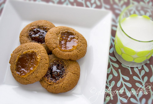 Thumbprint Cookies with Buckwheat Flour + Brown Sugar | Gluten-Free ...
