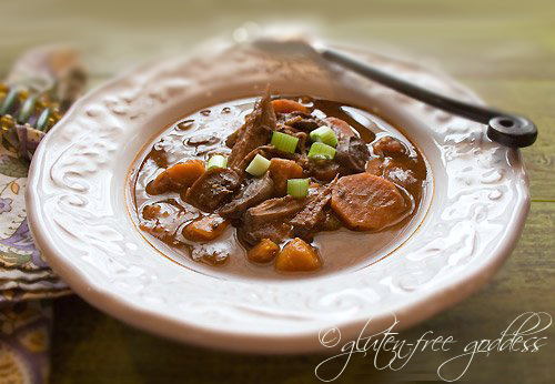 Easy, hearty gluten-free buffalo stew