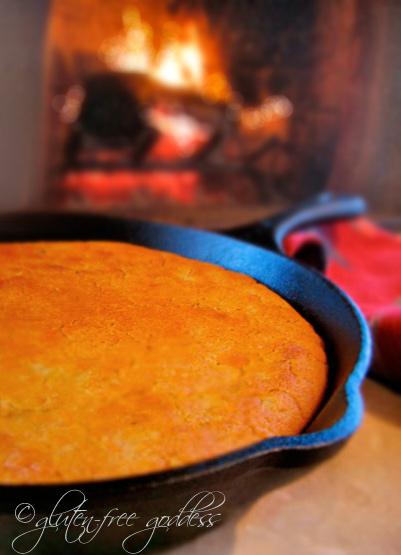 Yeasted Cornbread