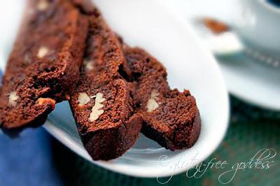 Gluten free biscotti recipe