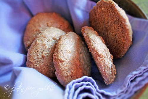 Gluten free vegan cookie recipe with bananas