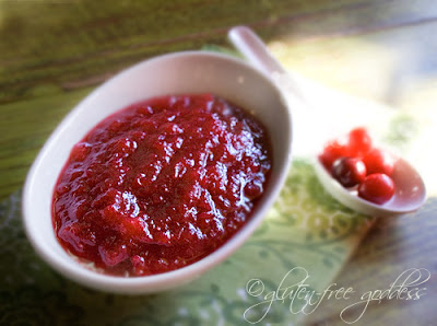 Vegan ruby applesauce