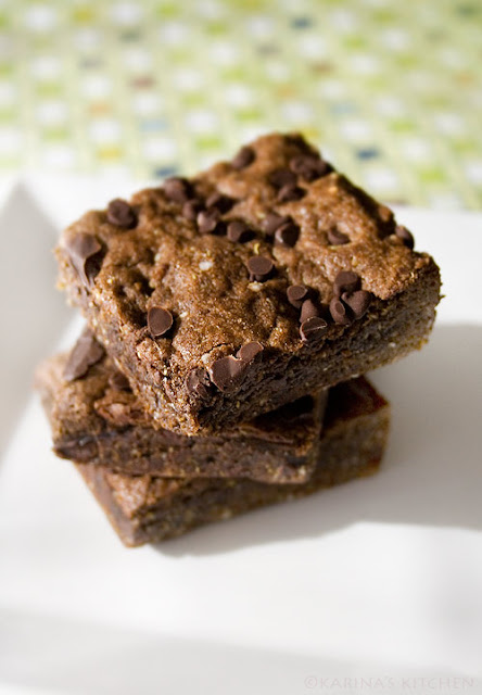 These gluten free chocolate brownies are vegan and egg free