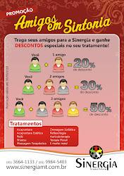 Promoção Amigos em Sintonia- Participe!!!