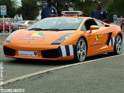 South Africa Police Car
