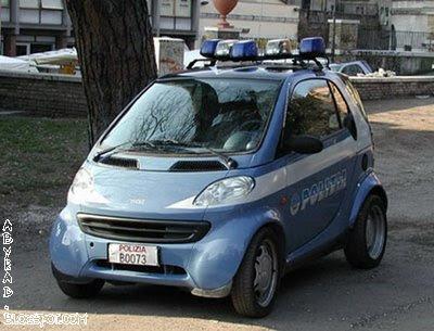 Roma, Italy Police Car