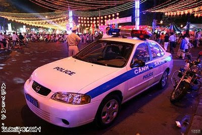 Saigon, Vietnam Police Car