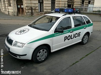 Chezh Republic Police Car