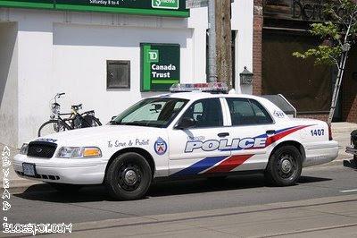 Toronto Canada Police Car