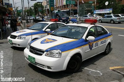 Korea Police Car