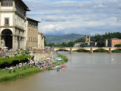 A View from Ponte Vecchio in Florence