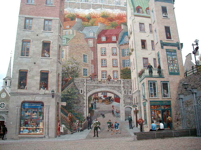 A Portrait of the Visual Arts in Canada Wall Murals of Canada