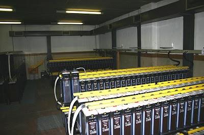 Baterías y sistemas de iluminación especiales
