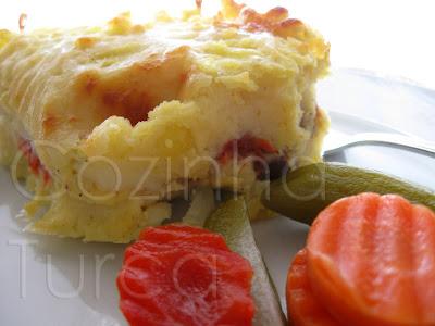 Empadão de Carne Especial (Patates Püreli Kebap)