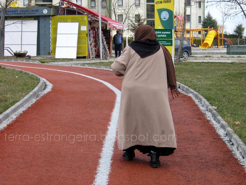 Caminhada lenta