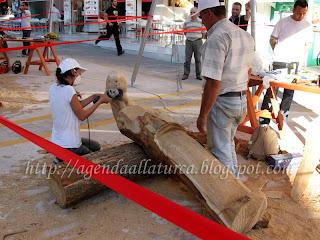 Mostra de Esculturas de Madeira em Ancara