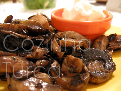 Cogumelos Salteados (Mantar Sote)