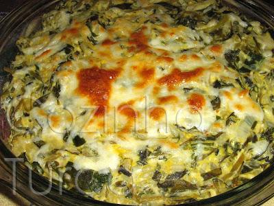 Tortilha de Beldroegas (Peynirli Semizotu)