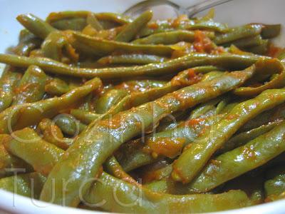 Feijão Verde ao Tomate (Zeytinyağlı Yeşil Fasulye)