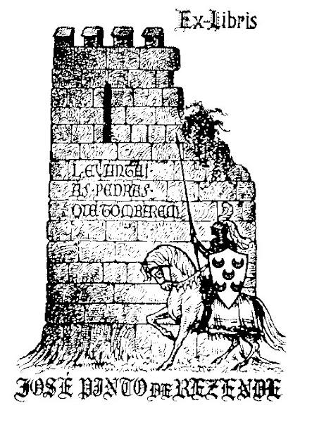 Ex Libris de José Pinto de Rezende