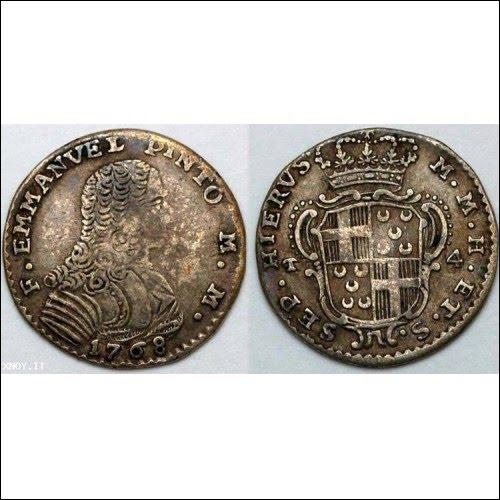 moeda do Grão Mestre D. Manuel Pinto