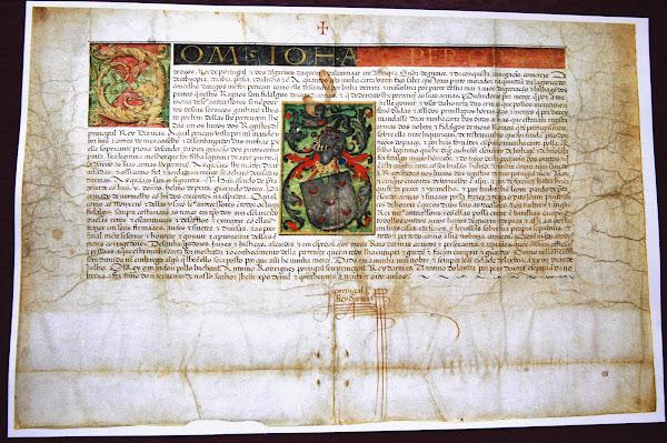 Carta de armas de João Pinto, senhor da Quinta da Torre da Lagariça