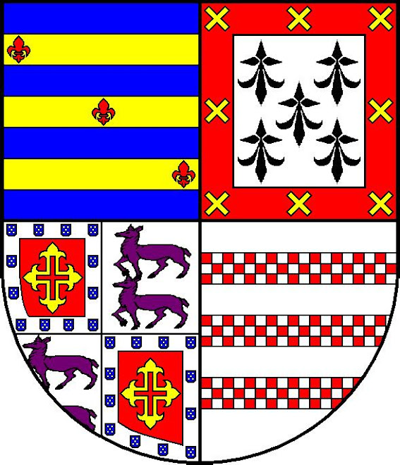 Heráldica da família Rebello de Magalhães, da Casa do Cabo de Cortiçô