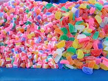 Fargesprakende godteri