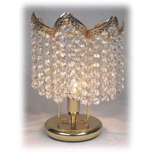 vintage crystal chandelier vintage crystal chandelier table lamp. Black Bedroom Furniture Sets. Home Design Ideas