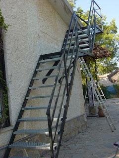 Herreria cabrera escaleras for Fotos de escaleras de herreria