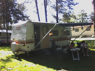 our camper at Jellystone Java NY