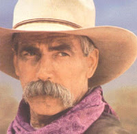 the quintessential Hollywood cowboy, Sam Elliot