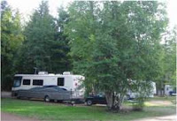 Wells Gray KOA site49b, stock photo