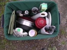 Bin Buddies make packing for camping simple