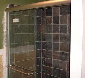natural stone shower walls in 6 by 6